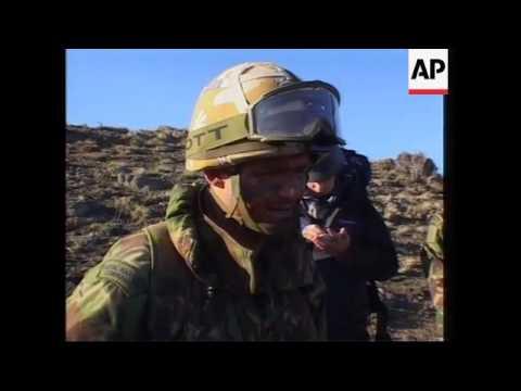 British troops on mission in eastern Afghanistan