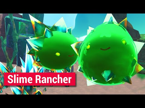 Slime Rancher LP (4) - Поход в заброшенную шахту.