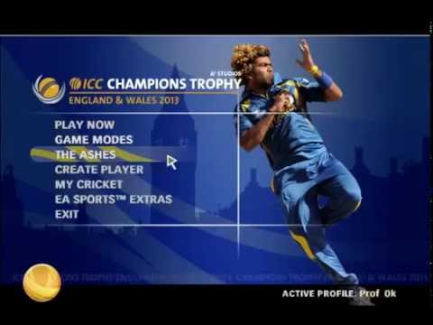 EA SPORTS CRICKET 2015 INDIA VS AUSTRALIA GAMEPLAY PC