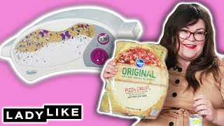 We Competed To Make Pizza In An Easy Bake Oven • Ladylike