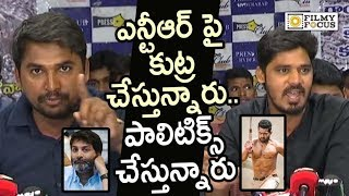 Media Reporter Superb Punch to Rayalaseema People on NTR and Aravinda Sametha Movie Controversy