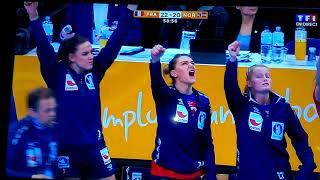 Finale handball féminine 2017 France - Norvège