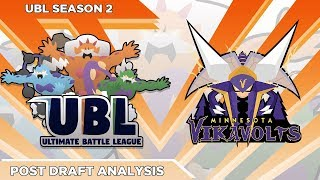 MY BEST TEAM EVER!? UBL Draft Breakdown! Minnesota Vikavolts!