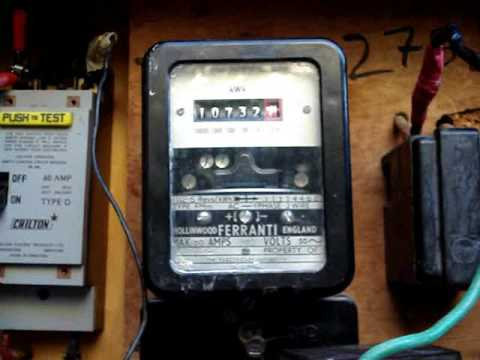 Stop Power Meter - KWH meter Backward theory