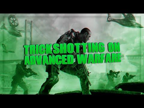 TRICKSHOTTING ON ADVANCED WARFARE!