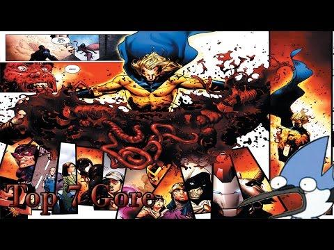Top 7 los comics más violentos creados