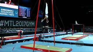 FRASCA Loris (FRA) - 2018 Artistic Worlds, Doha (QAT) - Qualifications Floor Exercise