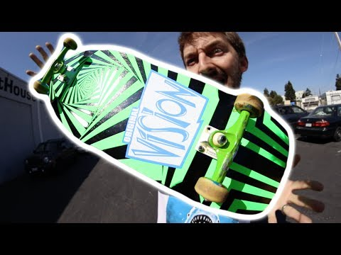 SUPER RADICAL 80s SKATEBOARD! | SKATE EVERYTHING