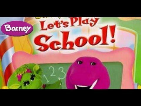 Barney - Let's Play School video