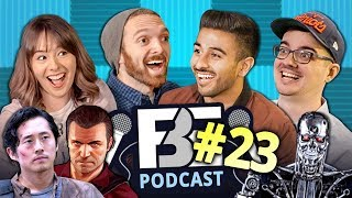 Robot Arms, Walking Dead, React Gaming (FBE PODCAST Ep #23)