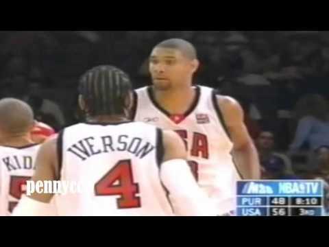 The 'REAL' Team USA 2004 *Full Highlight vs Puerto Rico