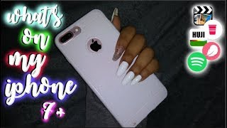 what's on my iphone 7 plus + mini case collection! || Aalyezah Robles