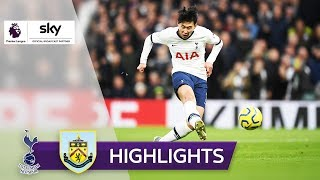 Son mit Wahnsinns-Solo! | Tottenham Hotspur - FC Burnley 5:0 | Highlights - Premier League