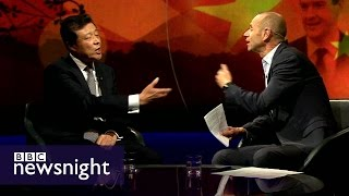 China's ambassador to UK on trade, democracy and human rights - Newsnight