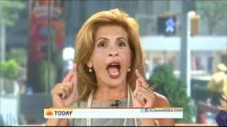 Hoda Gets Keratin Treatment on the Today Show