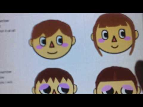 Animal crossing face chart Edited video