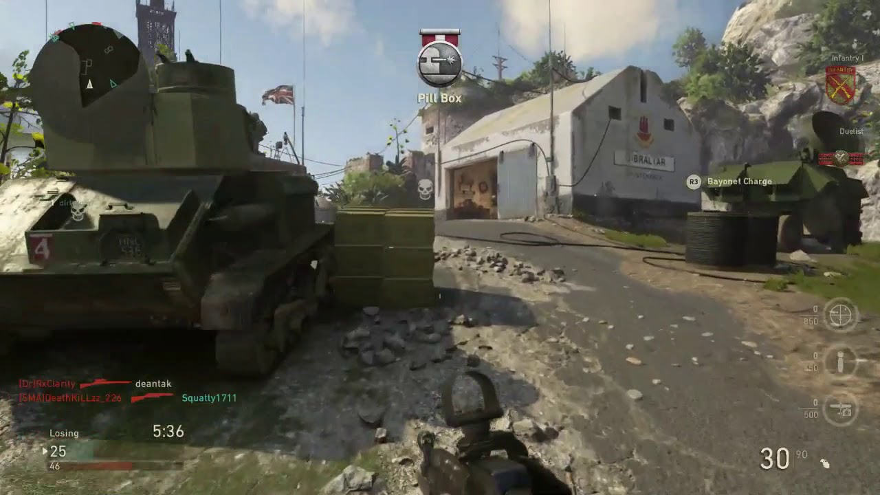 Call of Duty: WWII private beta Gibraltar map