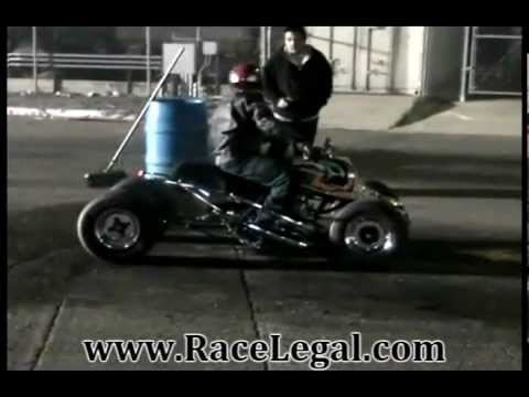 Yamaha Banshee Drag Racing Racelegal.com 3-2-2012