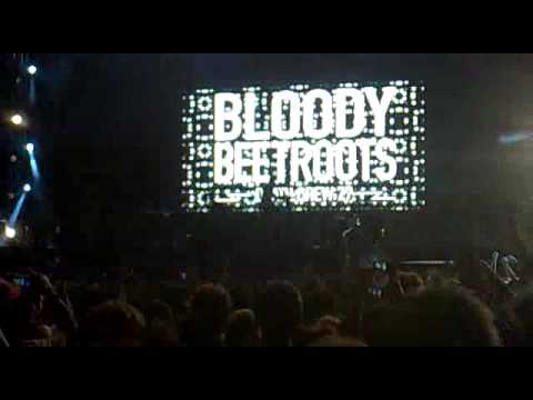 Electrovenice Festival: The Bloody Beetroots live (Venezia 2010)