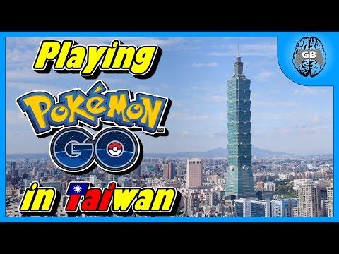Playing Pokemon GO in Taiwan