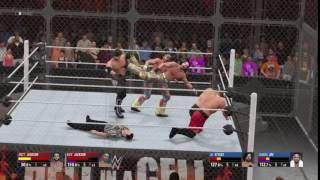 WWE 2K16 Double Superkick 2!!!