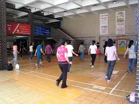 Human Line Dance Line Dance From Taipei