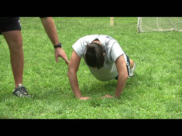 US Lacrosse Training Tips: Defensive Pushup