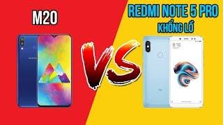 Samsung M20 vs Redmi Note 5 Pro khổng lồ! Bạn sẽ chọn máy nào?