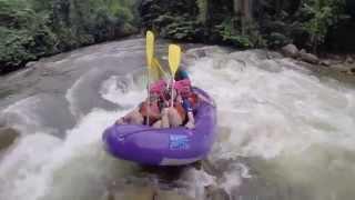 White Water Rafting in Gopeng, Perak