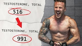 How I DOUBLED my Testosterone in 3 Months (CONFIRMED with blood test)