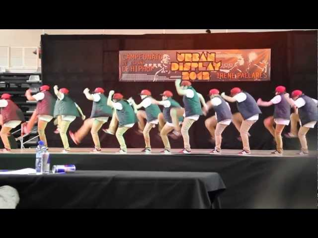 BLACKOUT CREW | CAMPEONATO DE ESPAÑA HIPHOP  URBAN DISPLAY 2012 | 1er PROFESIONAL
