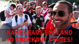 Harry Kane leads England to knockout stages! | Rio's WC18 Vlogs