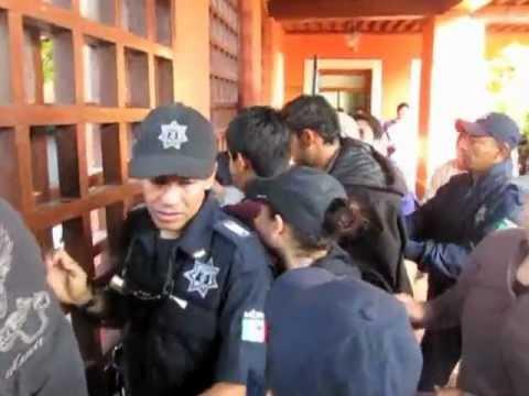 ... del Partido Verde Ecologista de México jaló de los testículos