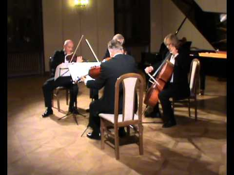 Erwin Schulhoff String Quartet no. 2. (part 2: Finale). Stamic Quartet live at Levoca