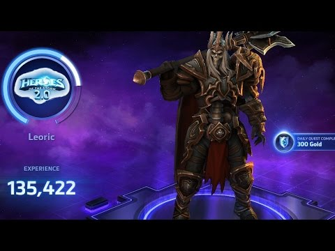 Heroes of the storm 2 0 - Leoric first look