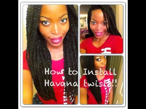 Havana / Marley Twists Tutorial: Invisible Root Method  Protective style  Msnaturallymary