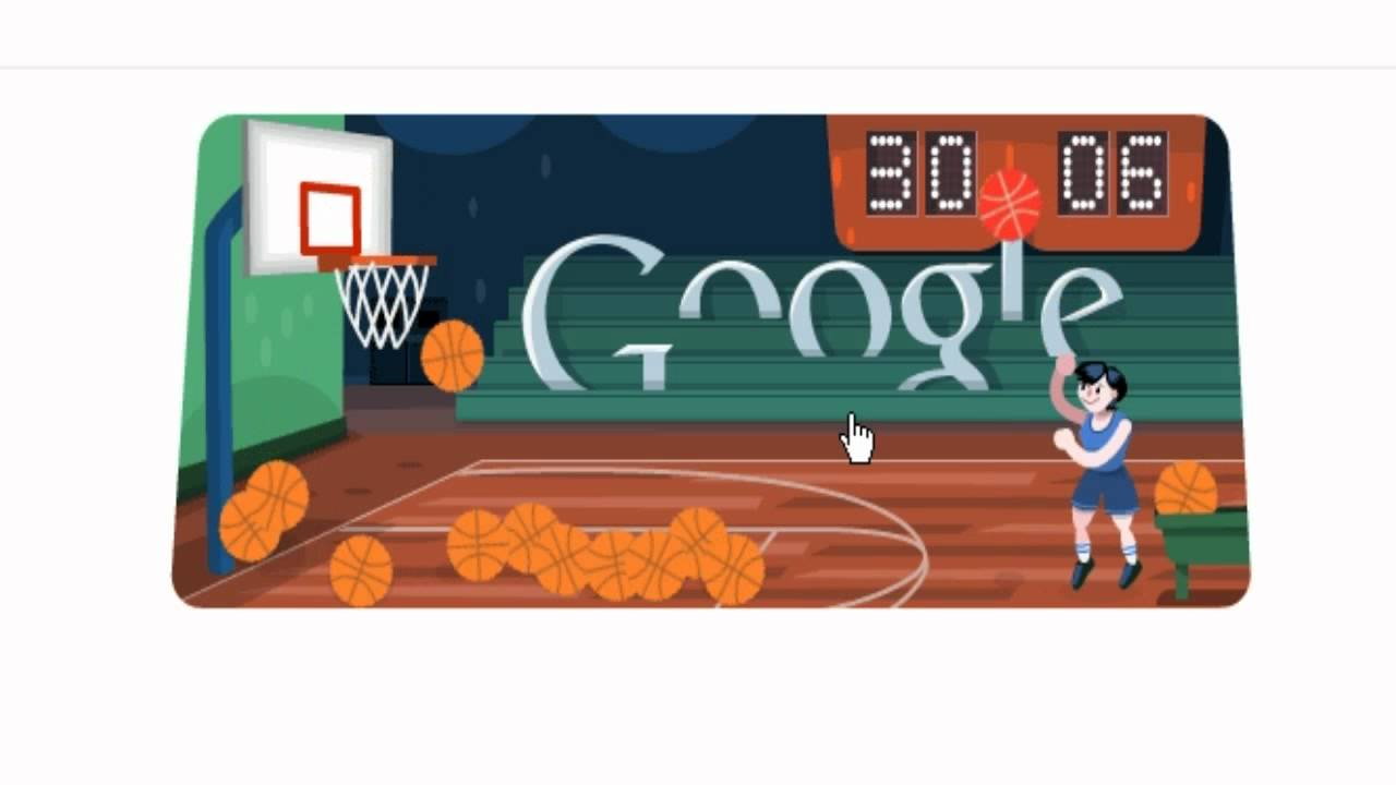 Google Doodle Basketball 2012 Record - 45 - YouTube