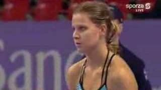 Koukalova vs Safarova Antwerp 2006