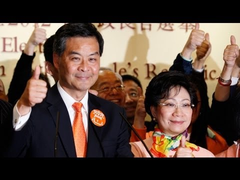 Hong Kong's elite picks Leung as new leader