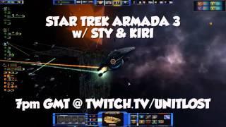 Star Trek Armada 3 Stream TONIGHT! Sty and Kiri vs The BORG!