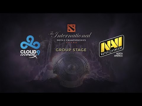 Cloud9 -vs- Na`Vi.us, The International 4, Group Stage, Day 1