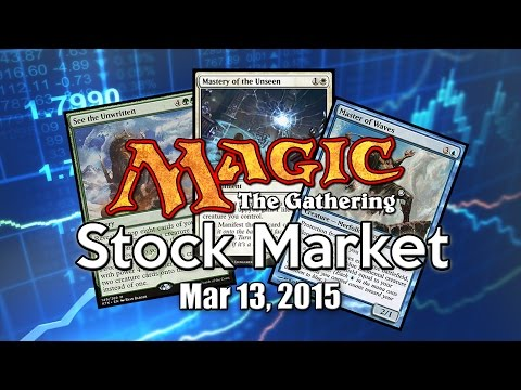 MTG Stock Market - March 13th 2015