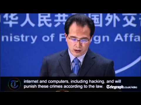 Chinese government suggest 'ulterior motives' behind Google