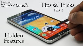 Galaxy Note 3 Software Explained! - Tips & Tricks, Hidden Features & more... Part 2/2