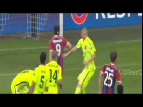 Thomas Mueller Goal - Bayern Munich vs Barcelona 3-2 [12.5.2015] Champions League Semi-finals