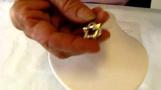14Kt gold Heart Star of David Pendant with Israeli Full Cut Diamonds