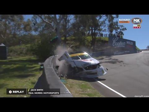 Smith Massive Crash | DVS - Bathurst 2016