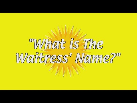 Sunny Bts: what Is The Waitress' Name? video