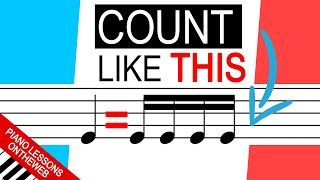 Why You Should Always Count Rhythms Like This..