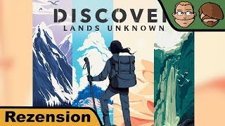 Discover - Brettspiel - Review